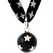 Collier bola grossesse coeur d'or Liberty